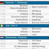 Bundesliga Predicted Matches To Stake On.