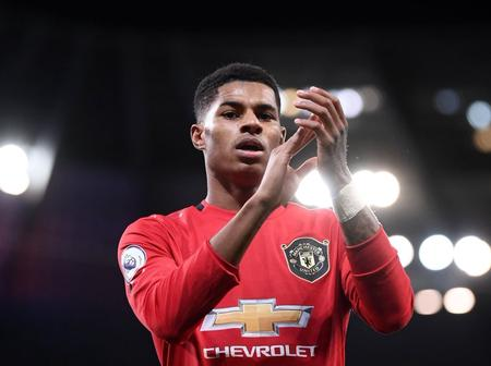 After Marcus Rashford Was Awarded By The Queen Of England, See The Awards He Has Received In 2020
