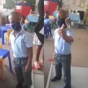 'Disrespectful' Primary Scholar Infuriates South Africans After Going Viral On Opening Day