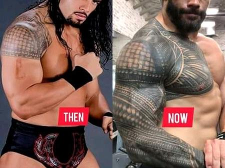 Roman Reigns Body Transformation Then And Now Is So Incredible