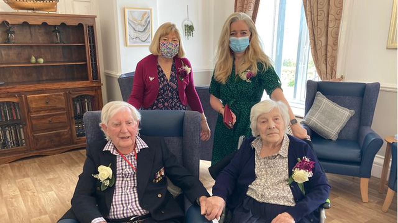 Phil and Jill still going strong after 74 years together