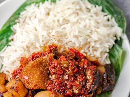 See how to make Ofada Rice and Ofada Stew with assorted meat, see the recipes
