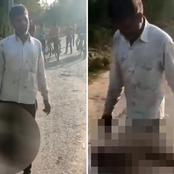 Indian Father Murders 17-Year-Old Daughter For Allegedly Dating Man He Did not Approve -VIDEO