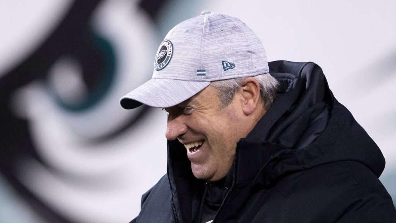 Doug Pederson says he won't dwell on past with Eagles