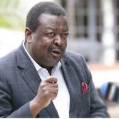 Mudavadi Accuses Governor Oparanya of Interference in Matungu By-elections