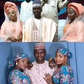 Check Out Lovely PHOTOS Of Two Brides Who Got Married To One Man Today