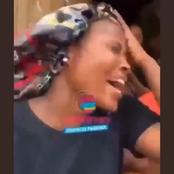 (Video) Young Lady Goes Berserk After She Receives Gifts from her Lover