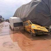 Check out over 30 pictures of bad roads taken across the country