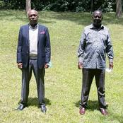 Mixed Reactions as Sen. Gideon Moi Meets ODM Boss Raila Odinga