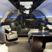 The Worlds Largest Private Jet Costs $20,000 An Hour. See Stunning Interior Photos