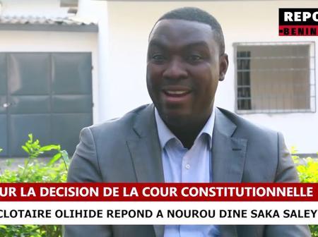Bénin : Clotaire Olihide contredit Nourou Dine Saka Saley après les propos tenus sur sikka-tv
