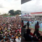 (Photos Speak) : PDP Flag off VS APC Flag off in Edo State