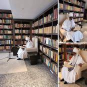 Emir Sanusi Shows Off His Library, Check It Out