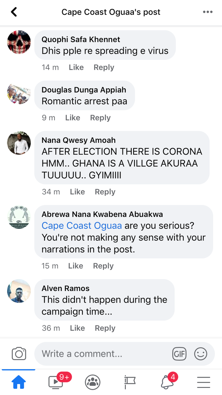 66e2e035b5714cc382a24f59417f349b?quality=uhq&resize=720 - A Number Of Persons Have Been Arrested In Cape Coast For Failing To Wear Face Mask; Ghanaians React