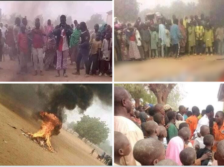 Man Burnt Into Ashes For Allegedly Insulting Prophet Muhammad In Bauchi ~ See People's Comments