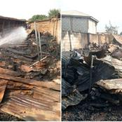 Fire Outbreak: Over 30 Shops Consumed by Fire in Oro General Market, Kwara State.