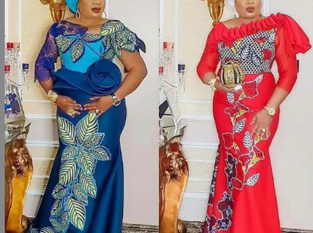Check Out These Stylish Long Ankara Gown Designs For Fashionistas