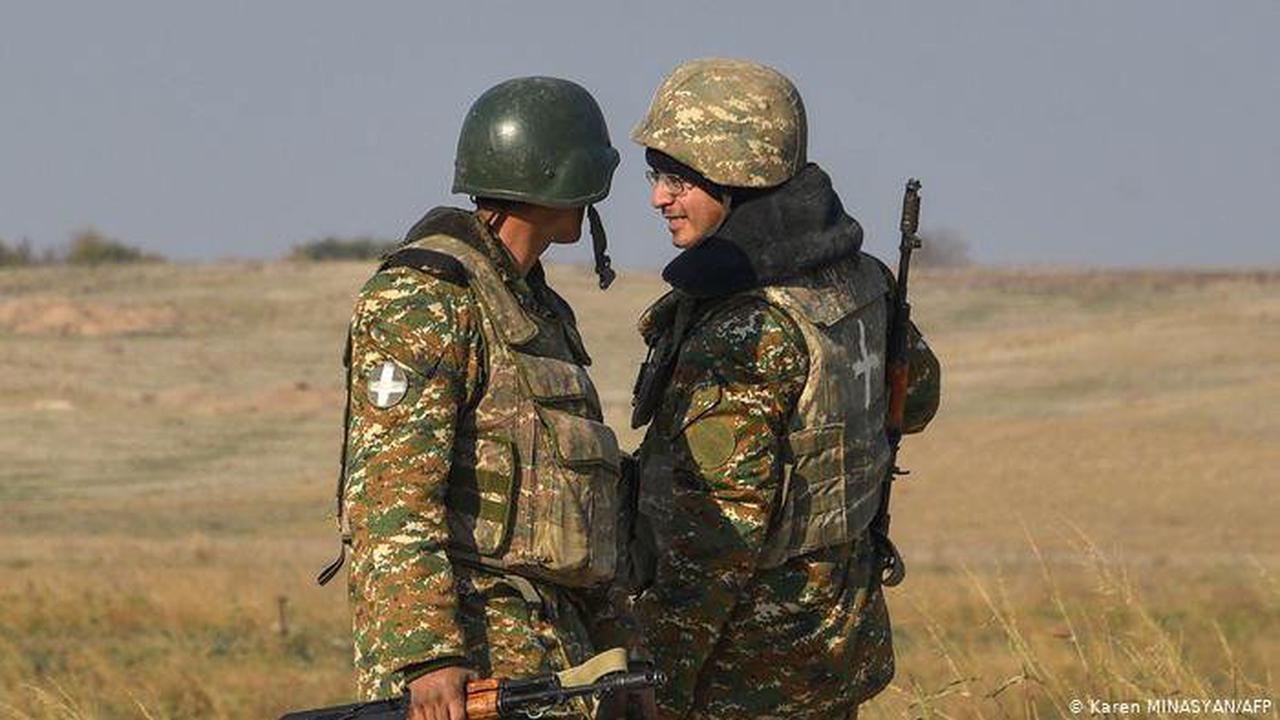 Armenia accuses Azerbaijan of encroaching on its territory