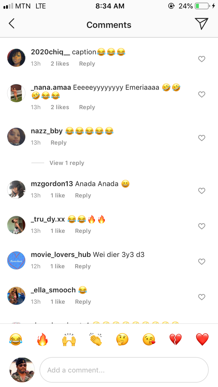 670fe0a0d45640ed5f8cb67f21ef557b?quality=uhq&resize=720 - Social Media Users Mock Emelia Brobbey's New Song With Kuami Eugene, Says Its A 4th World War