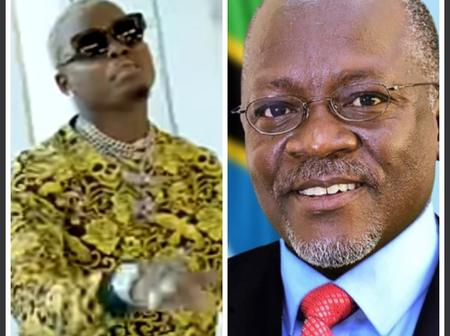 RIP President Magufuli. Harmonize Cries Inconsolably On Instagram Live Late At Night (VIDEO)