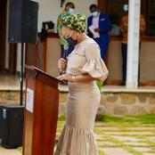 Mother Of 4 But Still With A Flat Tummy - Ghanaians Wowed Of Samira Bawumia's Current Shape [Photos]