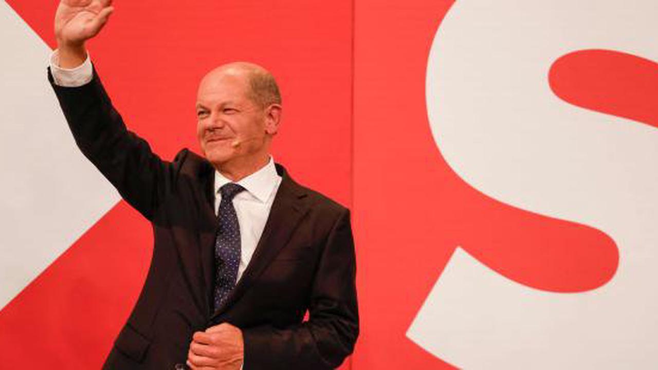 En Allemagne, les sociaux-démocrates remportent les législatives avec 25,7% des voix