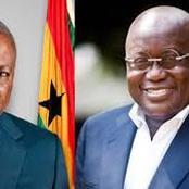 Dumsor in focus. Ghanaians gave Mahama a raw deal, now treats Akufo Addo with kid gloves.