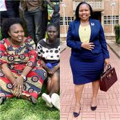 Reactions After Senator Millicent Omanga Posted These Pictures While In Kabuchai (Photos)