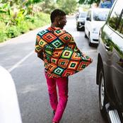 Nigerian Singer Spotted in Ghana, Check Out The Expensive Apparels He Rocked (Photos)