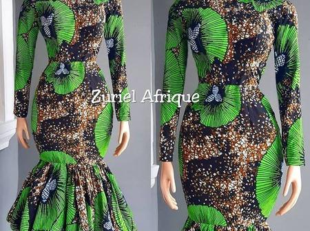 'Fashionistas goal'. Ladies, look amazing in these Classy Ankara designs