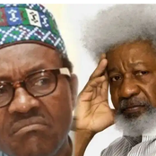 Today's Headlines: Buhari's Government Has Failed Nigeria –Soyinka, Rescue pastor held by Boko Haram, CAN tells Buhari