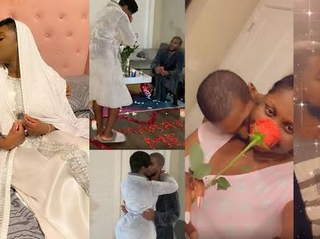 Princess Shyngle files for divorce, few weeks after getting married to Gibril Bala