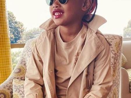 See how Dj Zinhle and AKA's daughter (Kairo Forbes) is causing a stir online.