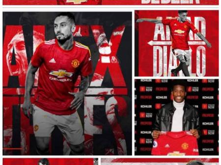 See All Manchester United Completed Signings