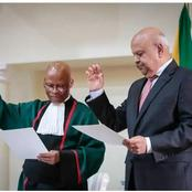 'It Was Purely Incidental' - Pravin Gordhan Denies Trying To Influence Chief Justice Mogoeng