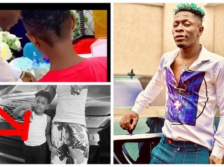 Video: Shatta Wale Throws Lavish Birthday Party For His Daughter Nhyira At His Baby Mama's House