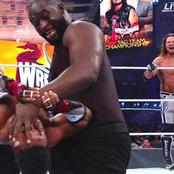 After Winning WWE RAW Tag Team Belt, See 5 Records Nigerian Wrestler Set at WrestleMania 37