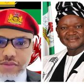Gov Ortom Blows Hot, Warns Nnamdi Kanu To Stay Away From Benue Or Face The Consequences
