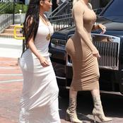 Beautiful: Checkout stunning pictures of Kim Kardashian and her sister, Khloe Kardashian.