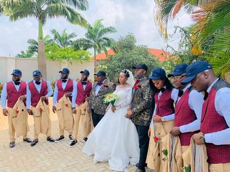 Meet Lady Who Stood In As A Groomsman in Umuahia.