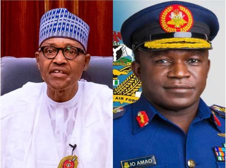 Hours After Nigerian Air Chief Visited Borno, President Buhari Speaks To Nigerians From London