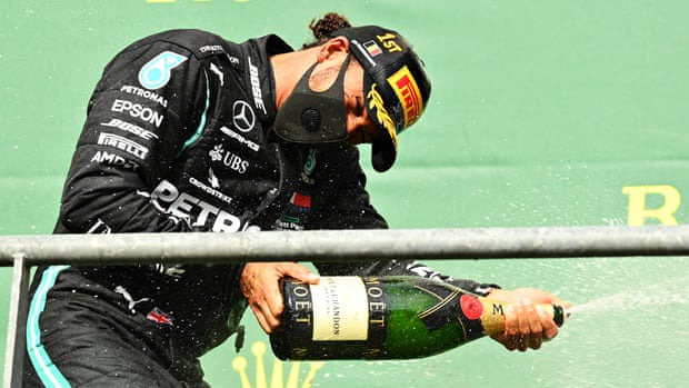 Lewis Hamilton wins Belgian Grand Prix 2020 to secure his 89th victory; pays tribute to Chadwick Boseman (photos)
