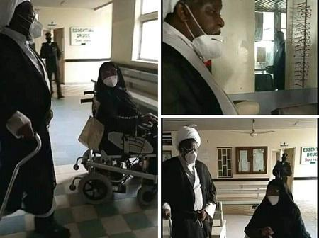 Checkout recent photos of Sheikh Ibrahim Zakzaky and his wife in Kaduna [Photos]