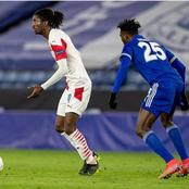 Super Eagles star outshines Nigerian teammate in his club's 2-0 Europa league away win