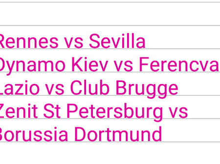 Tuesday Football Matches That Will Win You Big