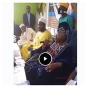 Oluwo Of Iwo Held A Live Conference With Islamic Group Over The Eviction Of Fulani By Southerners.