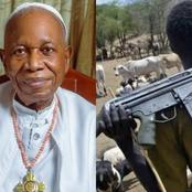 Treating Cows Like Human Beings Worsened Herdsmen Crisis In The Country, -Ex Prelate Sunday Mbang