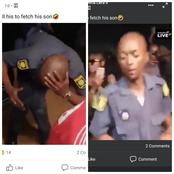 WATCH: A Drunk SAPS Officer Dancing Hard In A Tarven With A Uniform: See Facebook COMMENTS (Video)