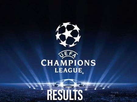 These are the Full Results of all the UCL Matches played today