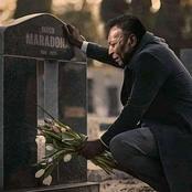 Photo de Pelé sur la tombe de Maradona : la toile dénonce un montage